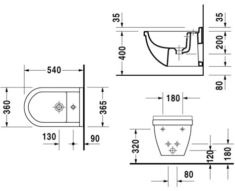 Bidet Drawing by Autospec Duravit Philippe Starck 3 Sanitaryware Browse