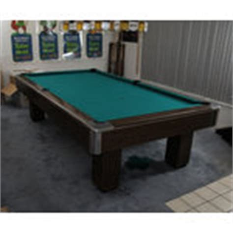 gandy quot big g quot tournament size pool table w accessories