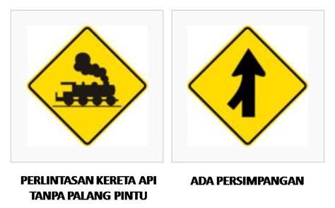 gambar rambu tanda  lintas jalan raya lengkap tanda gambar rambu  lintas