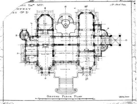 chateau floor plans dodderhill parish survey project historic places buildings historic buildings chateau impney
