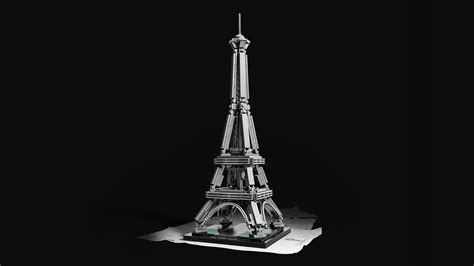 Eiffel Tower L The Range by 21019 The Eiffel Tower Products Architecture Lego