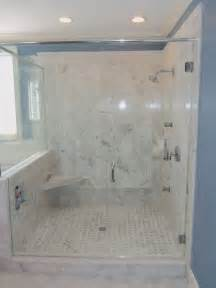 carrara marble master bathroom traditional bathroom