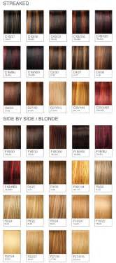 Miss clairol professional hair color chart