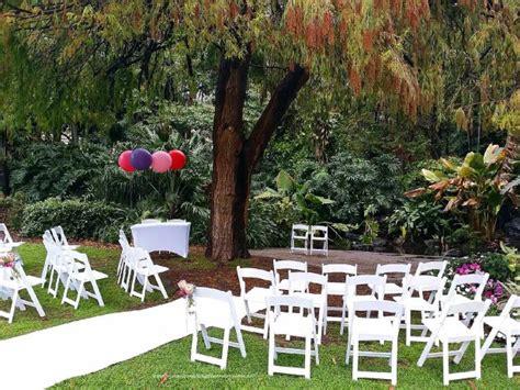 Botanical Gardens Brisbane Wedding City Botanic Gardens Wedding Brisbane Wedding Ceremony Decorators