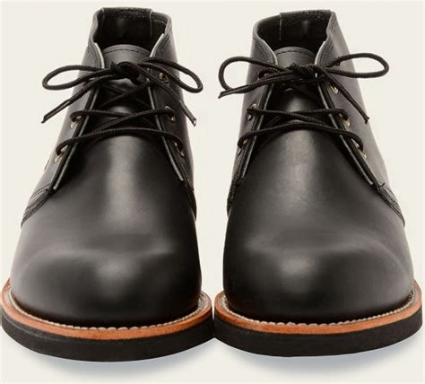 Wing 9216 Black foreman chukka style no 9216 black harness leather