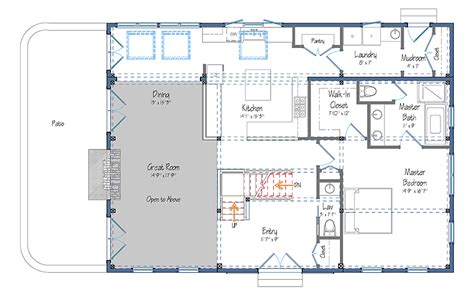 Barn Style Floor Plans | ranch styles pole barn home barn style house floor plans