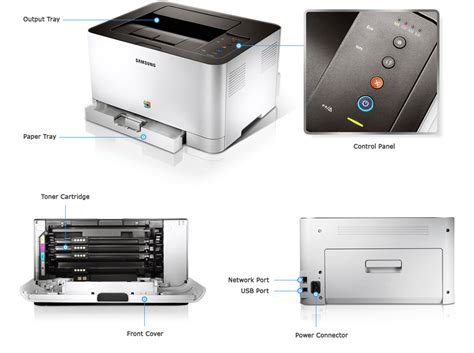 Printer Samsung Untuk Tablet samsung clp 365w 18ppm usb 2 0 2400 x 600 dpi colour laser printer samsung uk