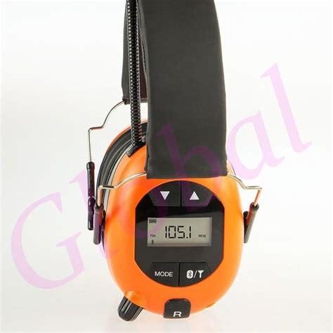 aba earmuff headset  fm radio bluetooth headphones
