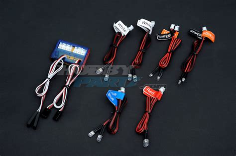 Rc Light Kits hobbypartz rc led light kit for cars and trucks
