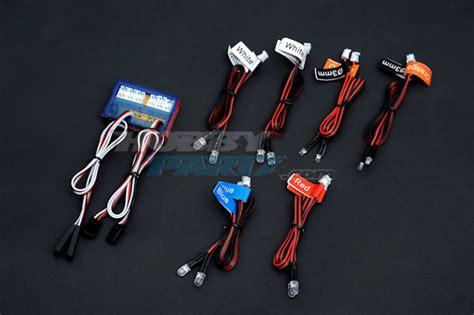 Rc Led Light Kit by Hobbypartz Rc Led Light Kit For Cars And Trucks