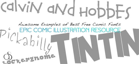 best comic fonts 20 best free comic fonts