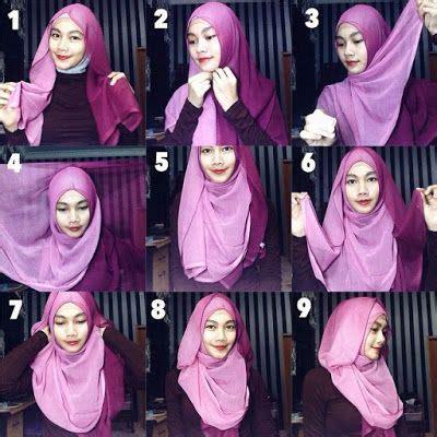tutorial hijab paris kreasi 25 kreasi tutorial hijab paris simple terbaru 2018
