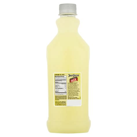 jose cuervo light margarita mix carbs jose cuervo light margarita mix nutrition facts besto