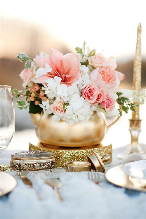wedding center flowers wedding inspiration coral pretty happy