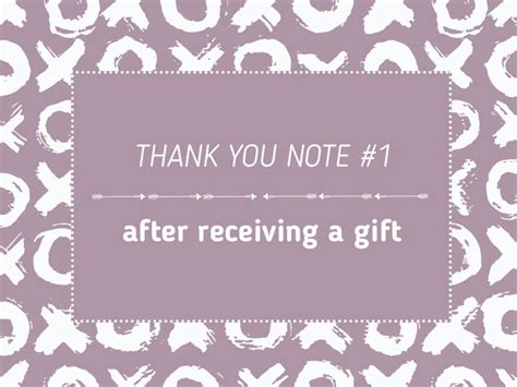 thank you letter to after receiving gift photo page hgtv