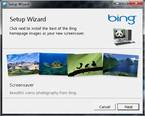 How To Install And Use The New Bing Bar In Internet Explorer 9 | download bing screensaver for windows 7 vista and xp