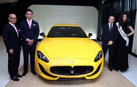 maserati malaysia maserati granturismo sport launched rm1 118 mil