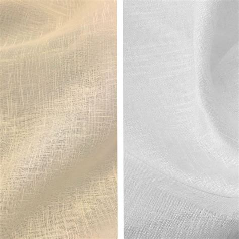 sheer linen curtain fabric sheer voile faux linen fabric 110 quot wide curtain drapery
