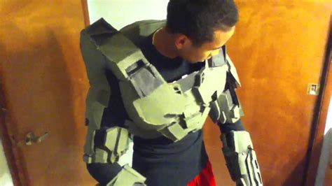 How To Make A Halo Helmet Out Of Paper - cardboard halo armor 6