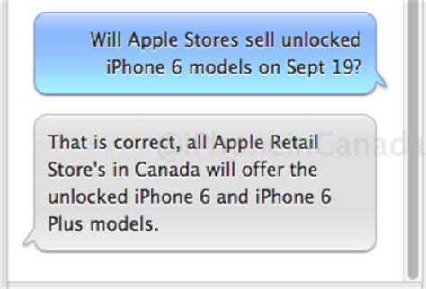 Apple Stores In Canada To Sell Unlocked Iphone 6 On Sept The Iphone X Is A Lava L