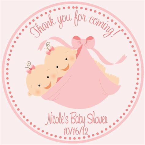Baby Shower Favor Tags by Baby Shower Favor Tags Sweetdesignsbyregan