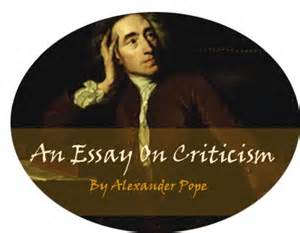 Pope Essay On Criticism Pdf by Literature Wiki An Essay On Criticism
