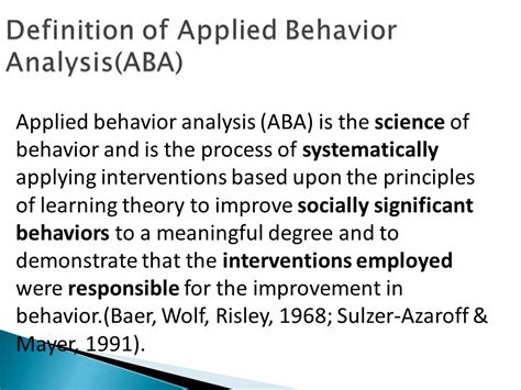 the principles of learning and behavior home school collaboration in development of effective