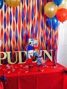 harley quinn themed birthday party harley quinn party decor party ideas pinterest
