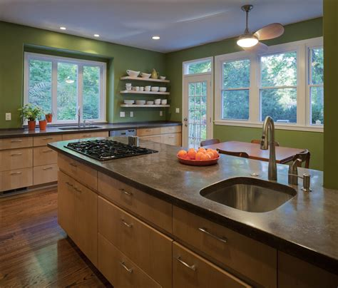 Types Of Kitchen Lights Types Of Countertops Kitchen Modern With Built In Cabinets Clean Beeyoutifullife