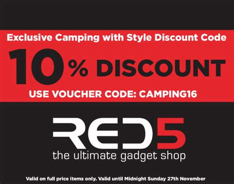 discount voucher uk juicers red5 gadgets discount voucher code from cing with style