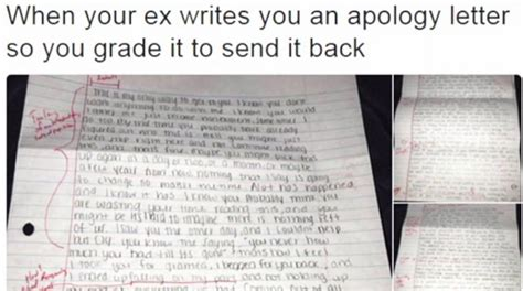 Apology Letter To My Ex Student Grades Ex Girlfriend S Four Page Apology Letter Wnep