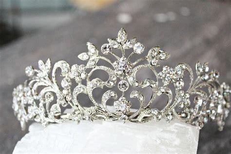 braut diadem swarovski bridal tiara anne swarovski crystal wedding tiara
