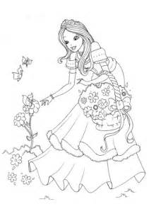 princess coloring pictures princess coloring pages for coloring ville