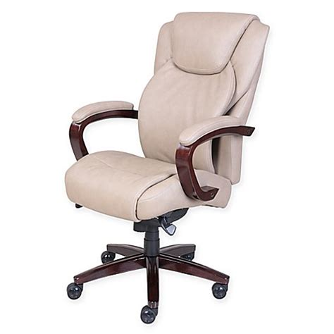 Comfortable Office Chairs La Z Boy Office Chairs Discount by La Z Boy 174 Linden Bonded Leather Executive Office Chair In