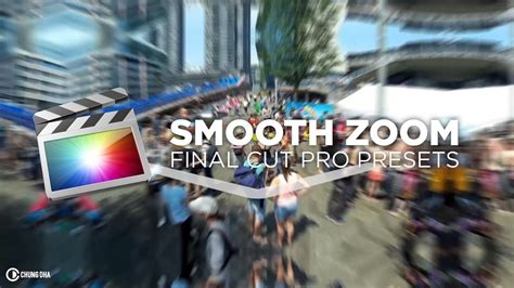 final cut pro zoom transition smooth zoom fcpx transition tutorial free preset by chung