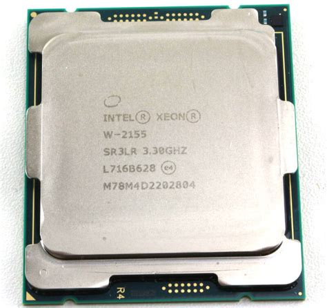 intel xeon best processor intel xeon w 2155 10 20 thread lga2066 processor
