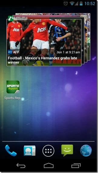 Android Republic by Sports Republic For Android Ios Is Like Flipboard For