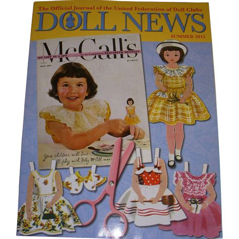 doll quarterly summer 2015 ufdc doll news magazine summer issue 2015 from