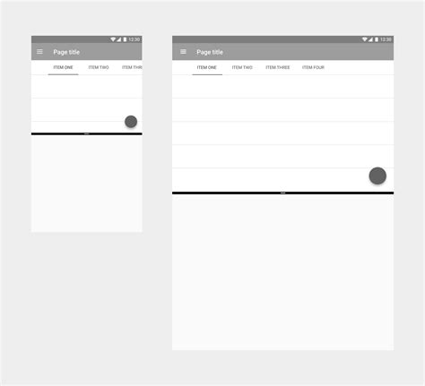screen layout design guidelines split screen layout google design guidelines