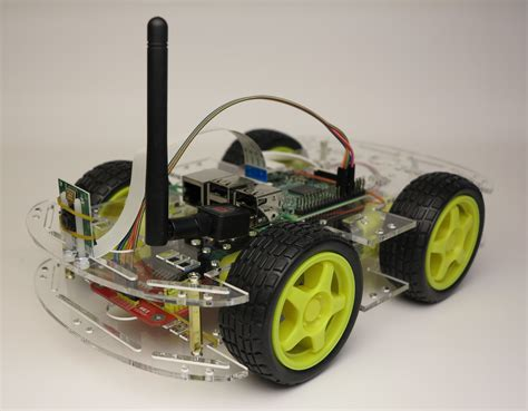 Go Robot Car raspberry pi car images