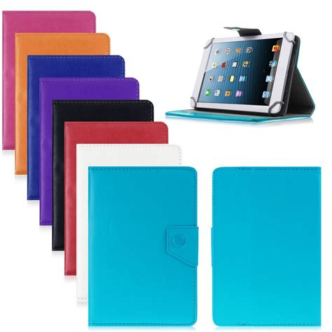 Tabletcover Book Tablet 7 Universal universal magnetic leather stand cover for 7 quot android tablet pc mid book ebay