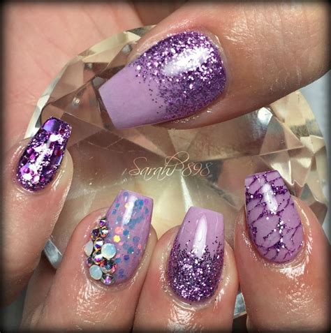 Nail Beds Purple by 25 Best Ideas About Purple Nail Beds On Gel