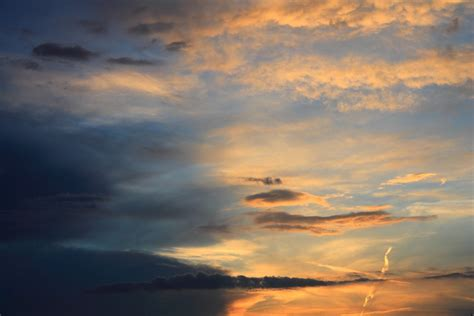 Rainy Awan free photo sunset clouds sky after the free