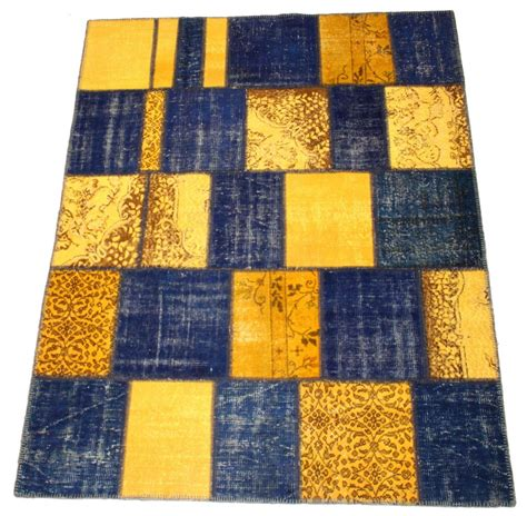 Patchwork Carpet - patchwork vintage carpet 252 x 190 cm