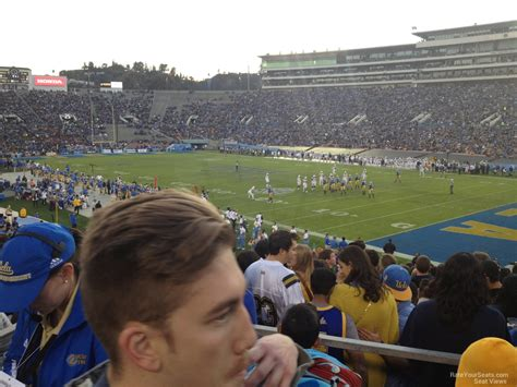 section 8 football rose bowl stadium section 8 ucla football