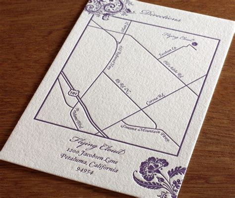 printable directions for invitations why print wedding invitation maps directions details and