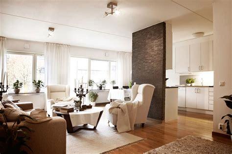 interior design open floor plan beautiful brown and white apartment interior design in
