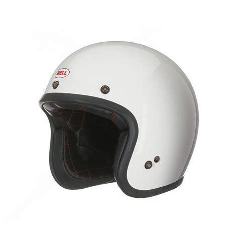 Helm Bell Custom 500 bell custom 500 helmet white motorcycle