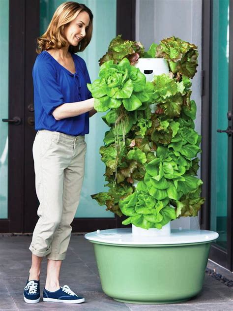 Aeroponic Tower Garden by Gluten Free Vegan Journey Growing Vertically In The Tower Garden