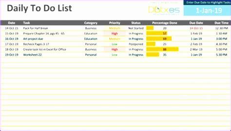 to do list template excel 2007 11 checklist template excel 2007 exceltemplates